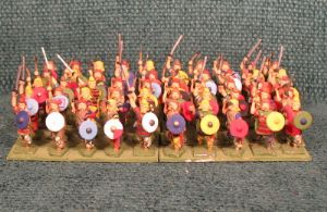 25mm Frankish Warband 50 Figures
